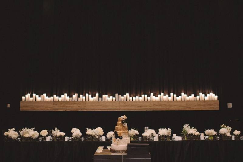 Ivy Ballroom Bridal Table