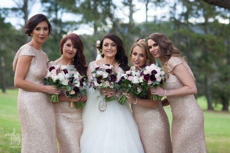 Laura and Bridal Party