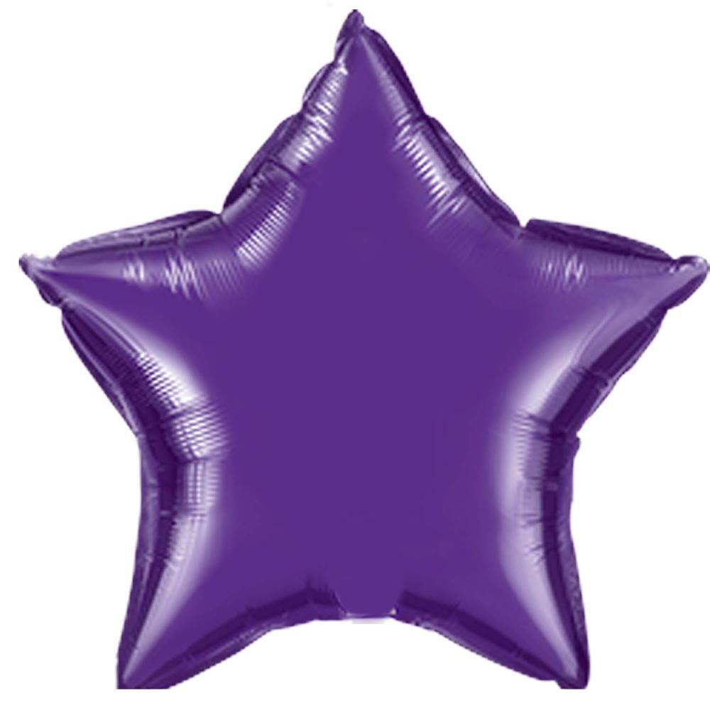 Purple Foil Heart Balloon