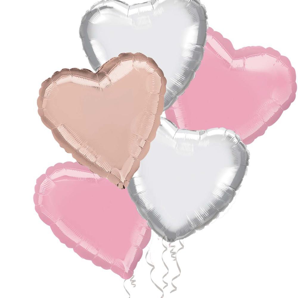 Pastel Pink Balloon Bouquet
