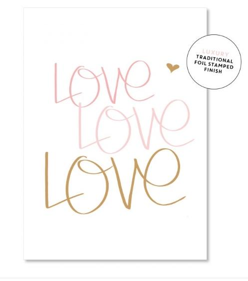 Love Love Card