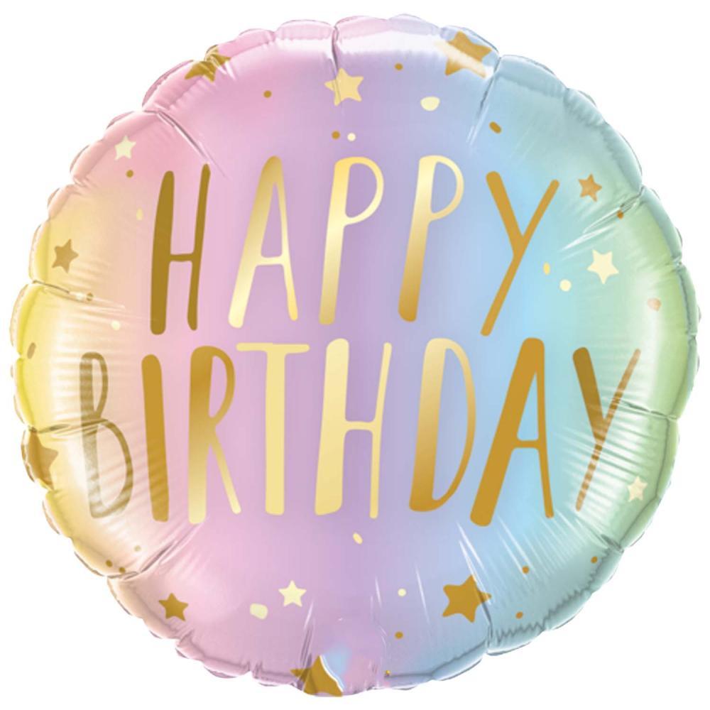 Pastel Birthday Balloon
