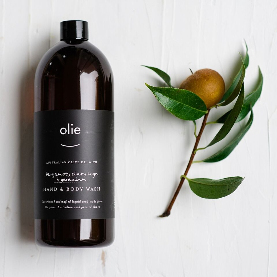 Bergamot, Clary Sage & Geranium - Hand & Body Wash