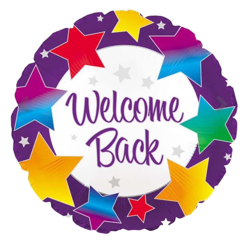 Welcome Back Balloon