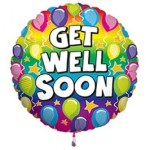 Foil Balloon Get Well Soon